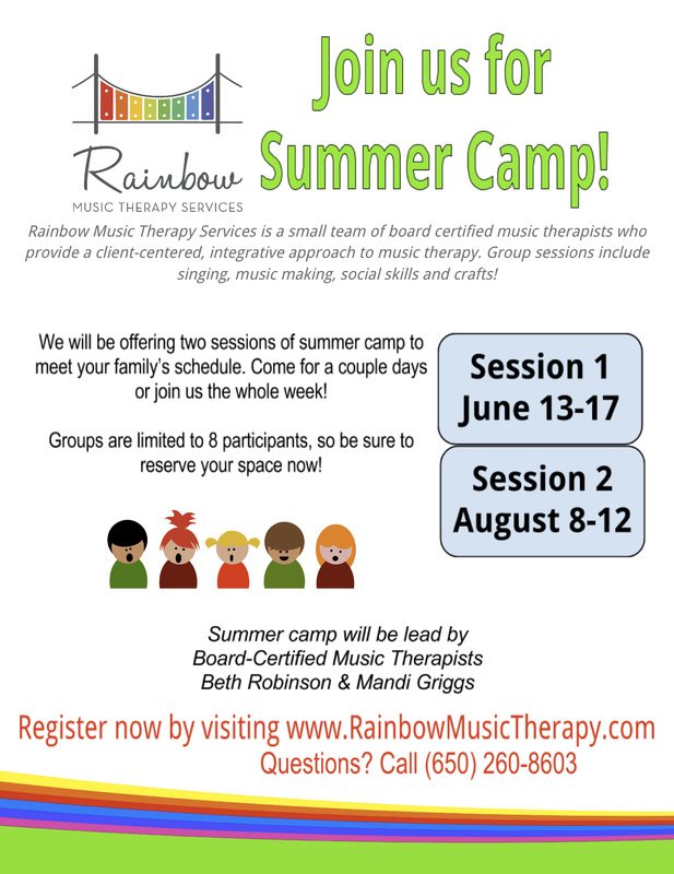 rainbow music therapy services news events